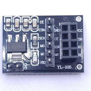 1PC NRF24L01 adapter module socket Adapter plate Board for 8Pin NRF24L01 Wireless Transceive module 51